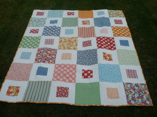 How To Make Layer Cake Quilt